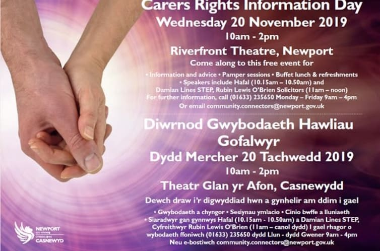 Read: Carers Rights Information Day - Newport